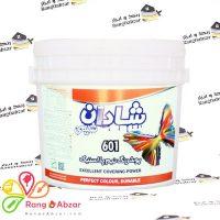 رنگ نیم پلاستیک ۵ کیلویی کد ۶۰۱ شادان شیمی