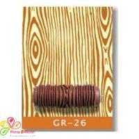 غلطک طرح چوب Growth - GR 26