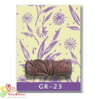 غلطک طرح گل و برگ Growth - GR 23