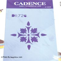 شابلون استنسیل کد DI 726 کادنس ابعاد ۱۴x20