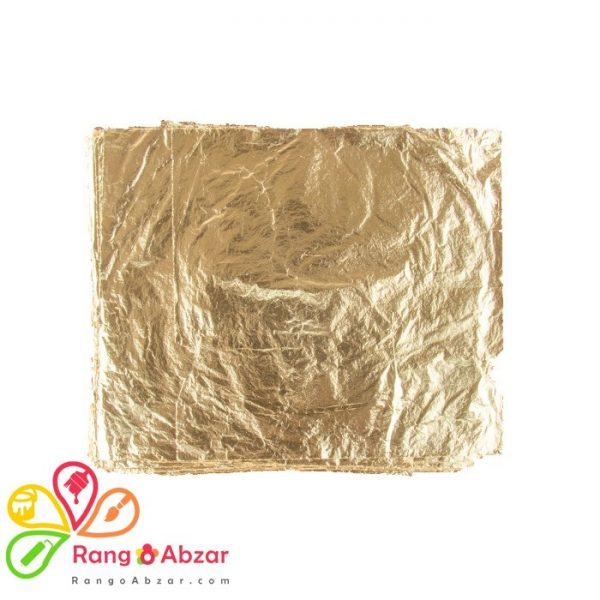 ورق طلا بسته ۱۰۰ عددی برند آرنا (۱۶*۱۶)