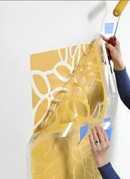 آموزش نقاشی با شابلون