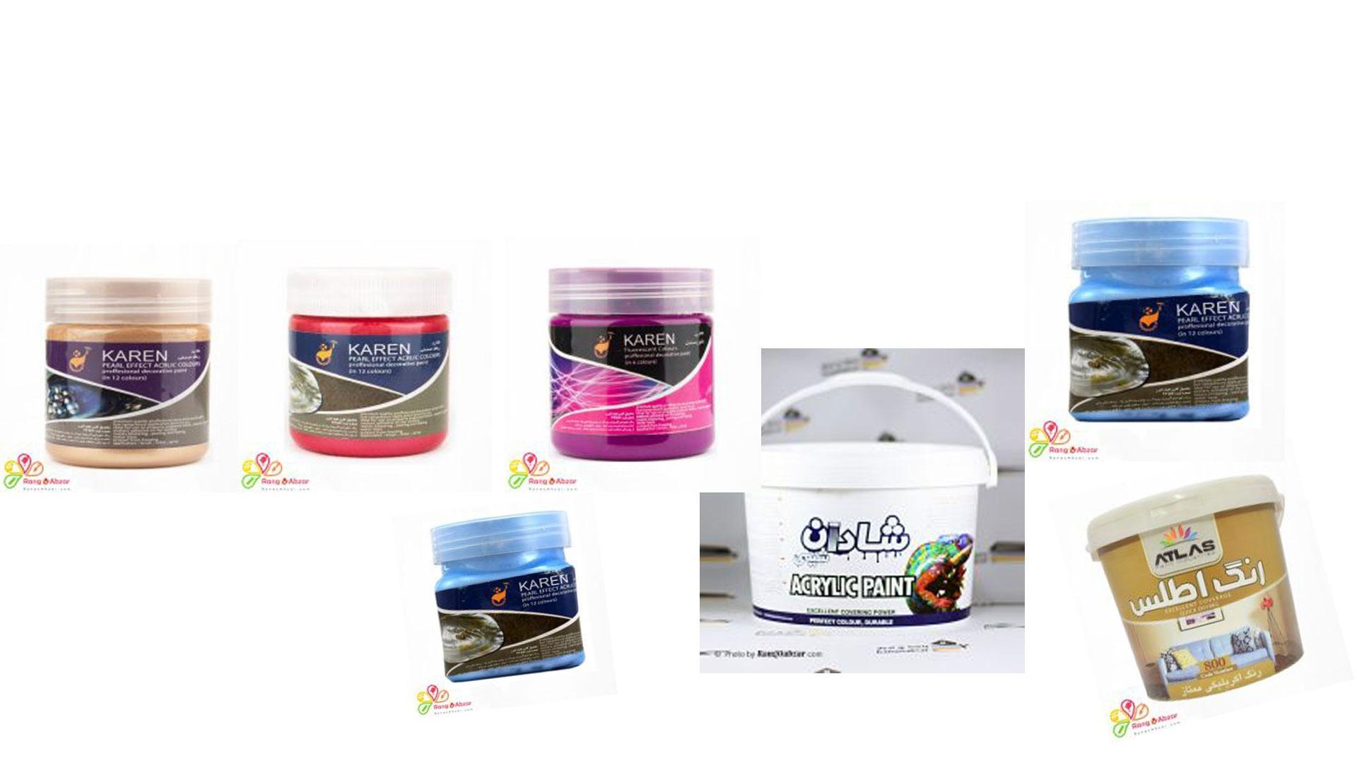 رنگهای ساختمانی فروشگاه رنگ و ابزار