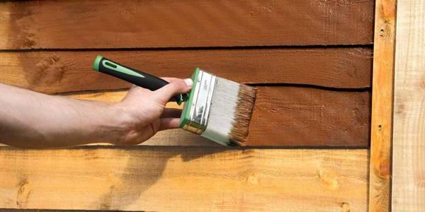 آموزش رنگ کردن لوازم چوبی
