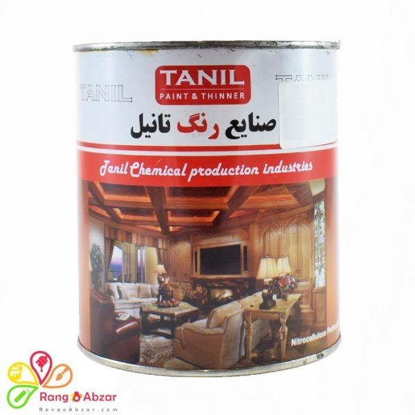 Black Tanil Wood Paint